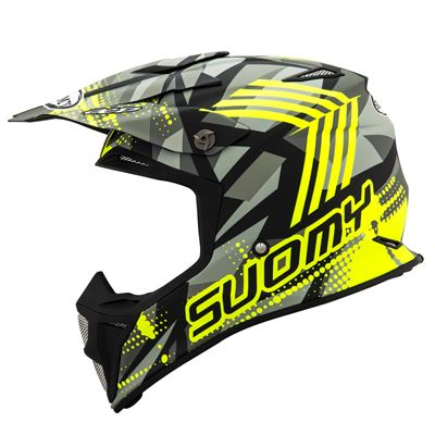 MX SPEED - SERGEANT - MATT GREY YELLOW FLUO (2) copy