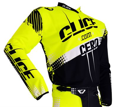 2018 CLICE SHIRT-YELLOW-FRONT