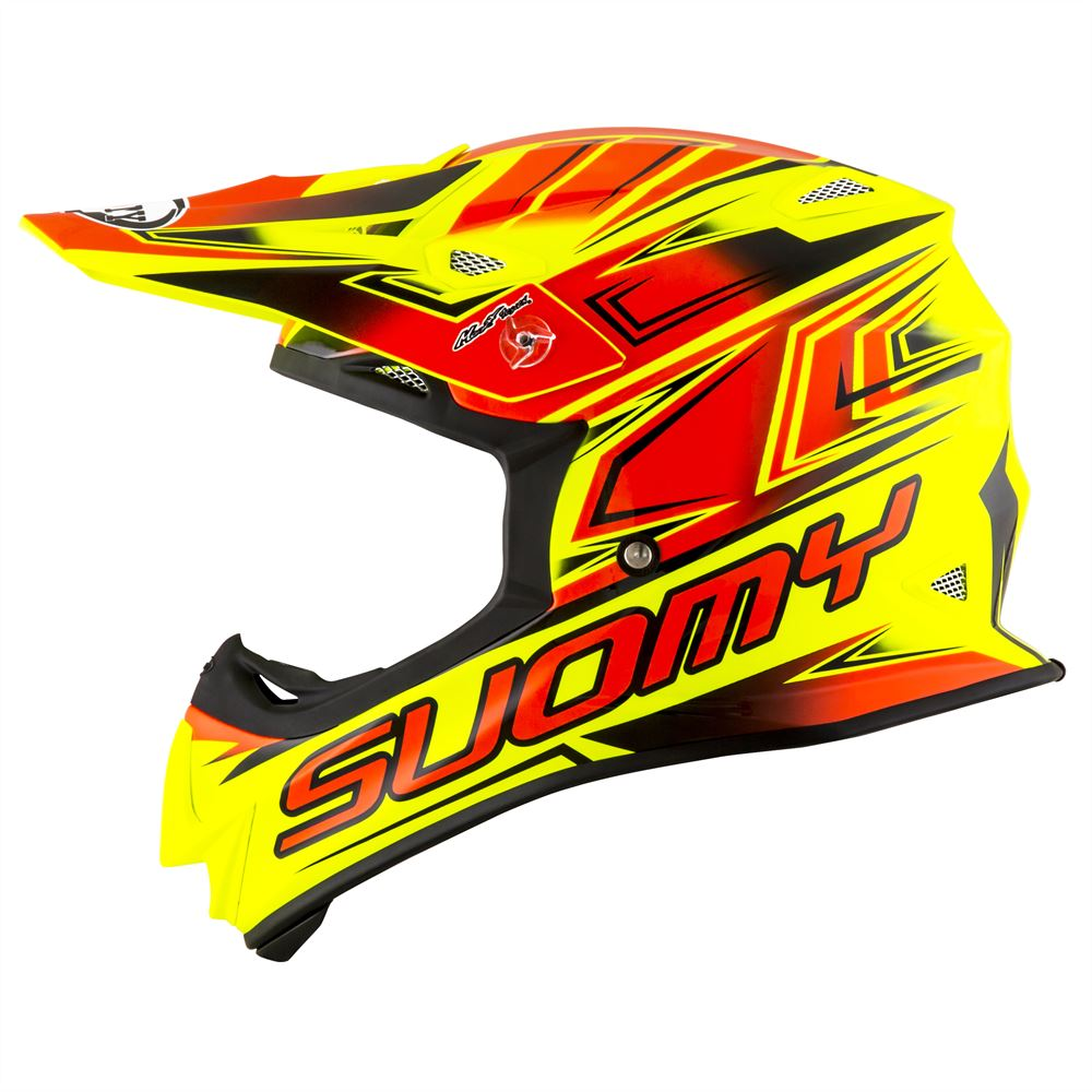 ec4708a6 Suomy Mr Jump Start - Yellow Flou/Red - NEW 2019