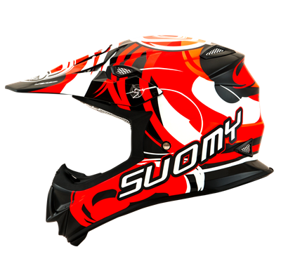 Suomy Mr Jump Vortex Orange Left