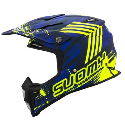 MX SPEED -SERGEANT - MATT BLUE YELLOW FLUO (1) copy