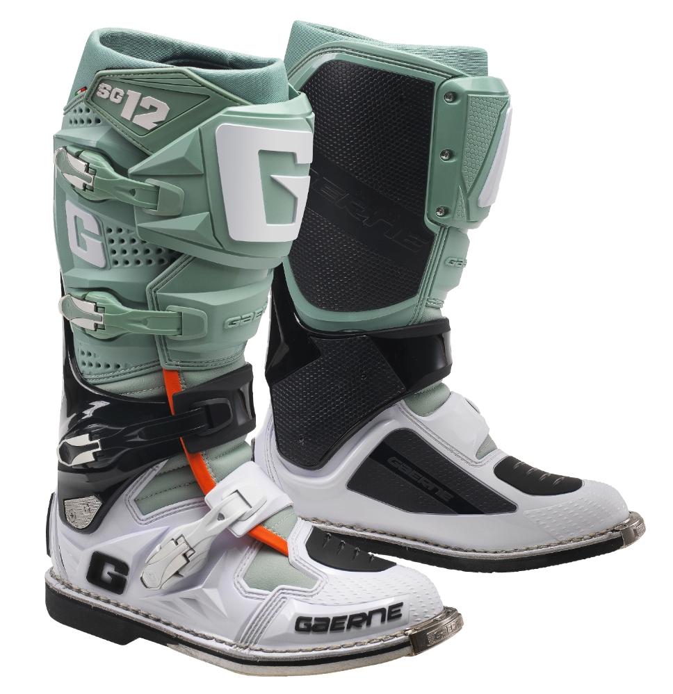 Gaerne Boots Sg12 >> Gaerne SG12 Paste MX Boots