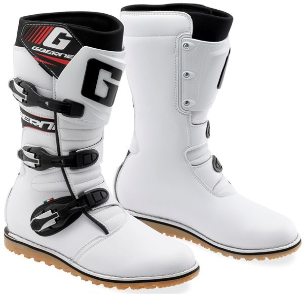 Gaerne Classic White Trials Boots