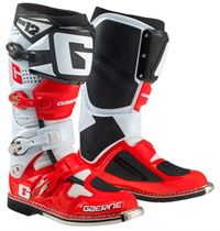 Gaerne SG12 White/Red/Black MX Boots