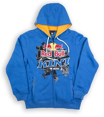 Kini-RB Collage Hoodie blue (Mittel)