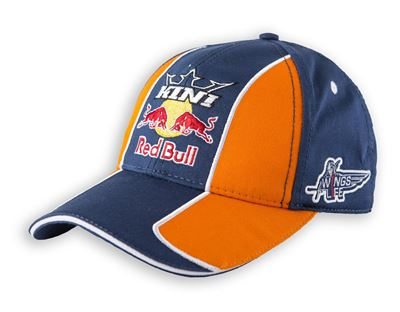 1LI5R_KINI-RB Kids Team Cap Orange_Navy